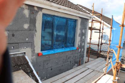 Insulation Installed In Cork House